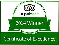 2014 Trip Advisor Certificate of Excellence Restaurant  Janesville
