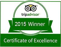 2015 Trip Advisor Certificate of Excellence Restaurant  Janesville