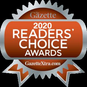 2020 Gazette Readers Choice logo